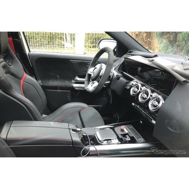 メルセデスAMG GLA45 開発車両(スクープ写真)