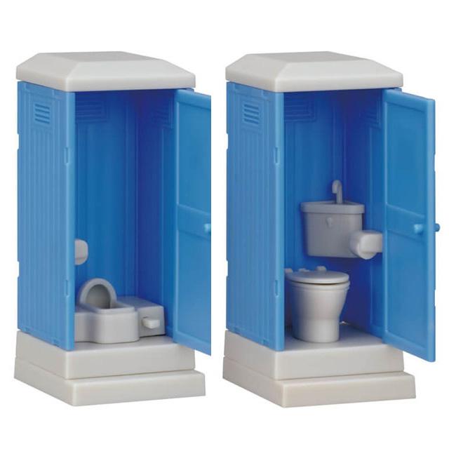 「仮設トイレ」
