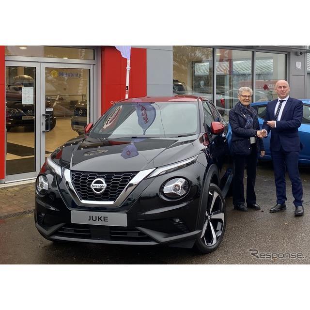 日産自動車の欧州部門は12月5日、新型『ジューク』(Nissan Juke)を欧州市場で発売した。生産を行う英国で...
