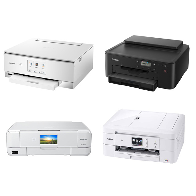 TS8330、TR703、EP-982A3、DCP-J982N-W