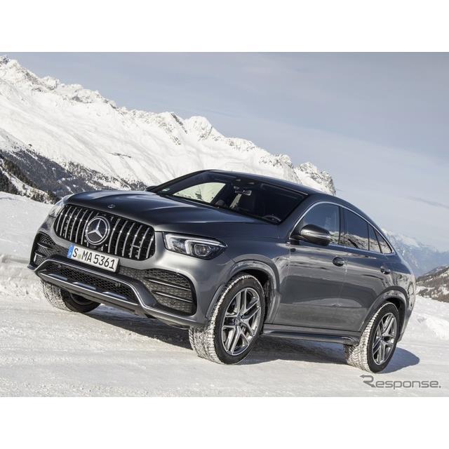 メルセデスベンツは、新型メルセデスベンツ『GLEクーペ』の高性能車、メルセデスAMG『GLE 53 4MATIC+クーペ...