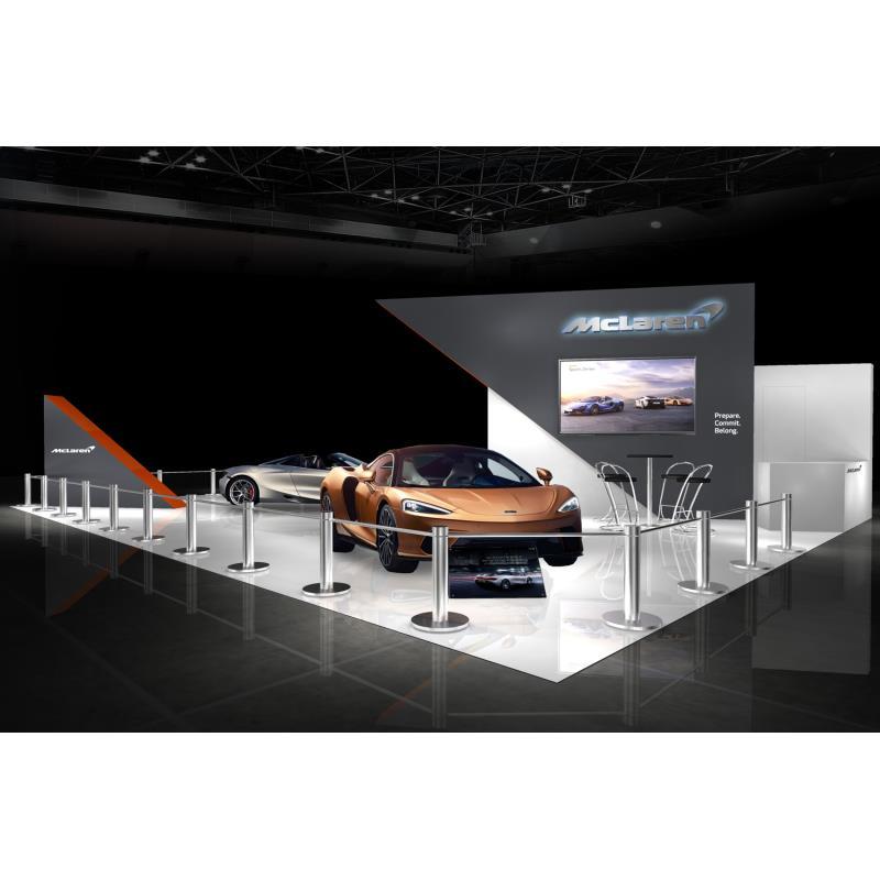 英マクラーレン・オートモーティブは2019年12月10日、千葉県の幕張メッセで開催される東京オートサロン2020...
