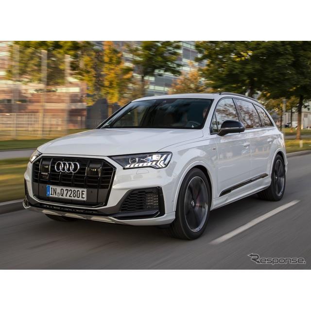 アウディは12月9日、『Q7』(Audi Q7)のプラグインハイブリッド車(PHV)、「Q7 TFSI e クワトロ」を欧州...