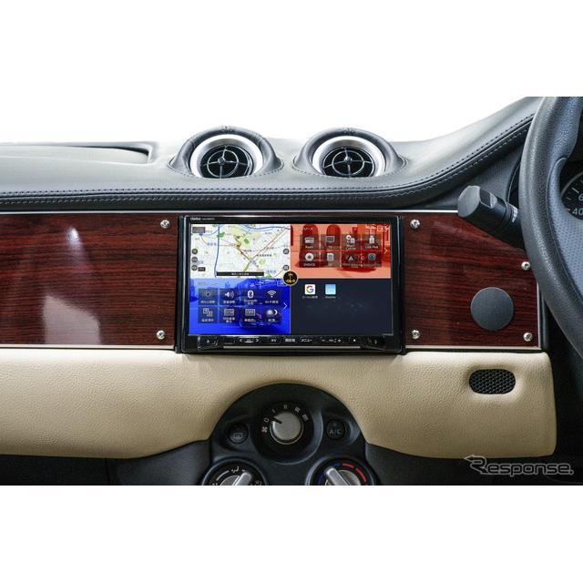 光岡自動車は12月12日、コンパクトセダン『ビュート』とハッチバック『ビュートなでしこ』に、クラリオン製...