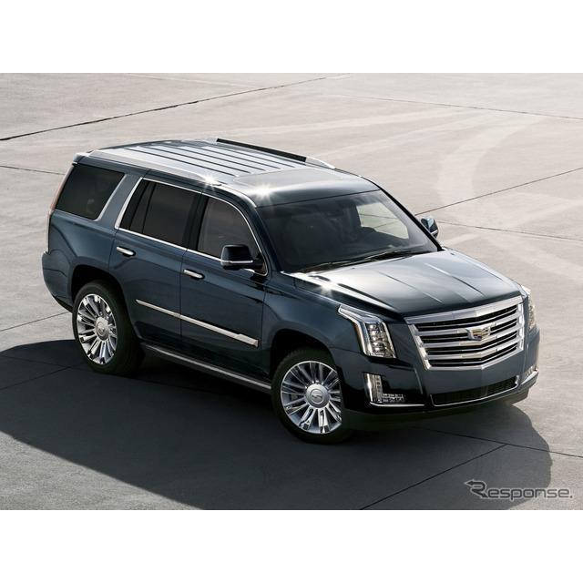 キャデラックは12月16日、新型『エスカレード』(Cadillac Escalade)を2020年2月4日、米国ロサンゼルスで...