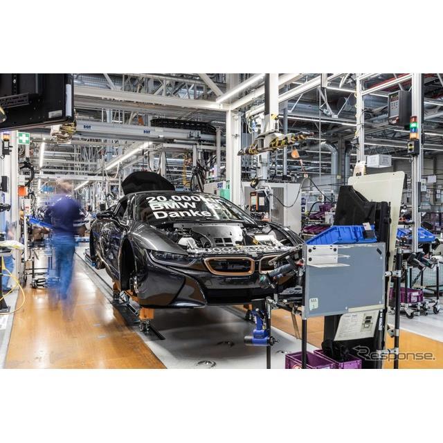 BMWグループ(BMW Group)は、2020年4月にプラグインハイブリッド(PHV)スポーツカーのBMW『i8』の生産を...