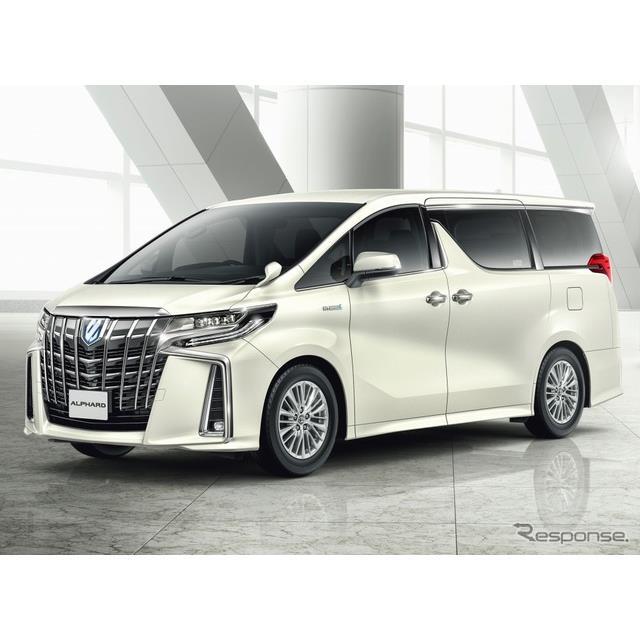 トヨタ自動車は、大型ミニバン『アルファード』および『ヴェルファイア』を一部改良、スマートフォンアプリ...