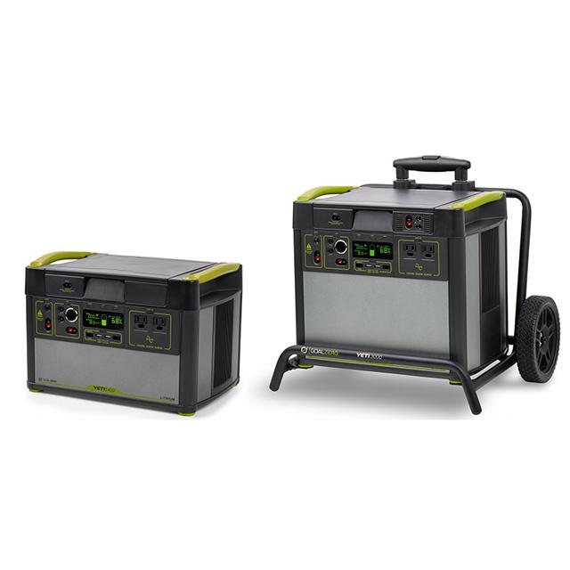 Yeti Lithium 1400 WiFi(120V) 38300、Yeti Lithium 3000 WiFi (120V) 38400