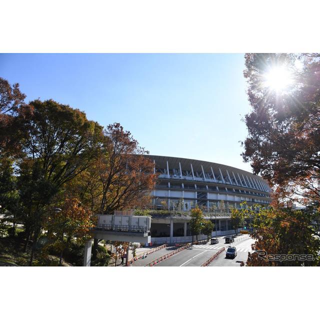 国立競技場(東京、12月4日)