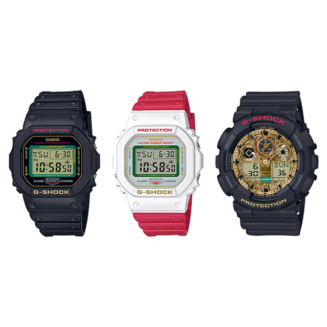 「DW-5600TMN-1JR」「DW-5600TMN-7JR」「GA-100TMN-1AJR」