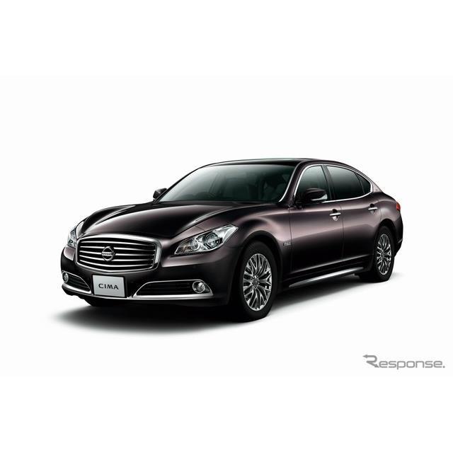 日産自動車は12月23日、高級セダン『シーマ』および『フーガ』の仕様を向上し、近く発売すると発表した。 ...