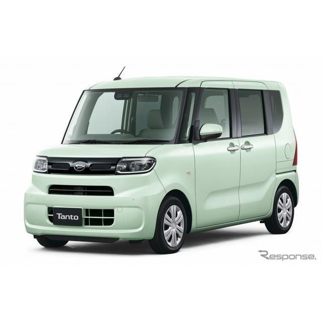 ダイハツは、軽乗用車『タント』にお買い得な新グレード「セレクション」シリーズを設定し、12月23日から販...