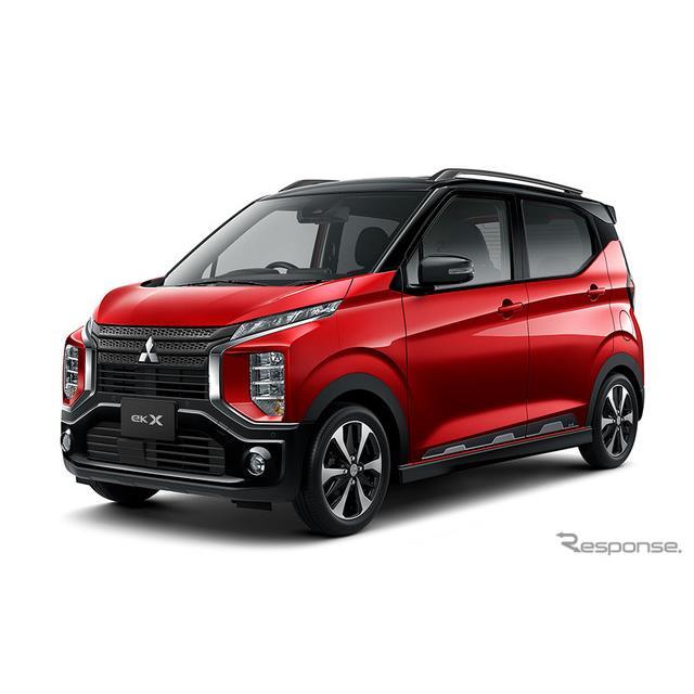 三菱自動車は、SUVテイストの軽ハイトワゴン『eKクロス』に特別仕様車「Tプラスエディション」を設定し、12...