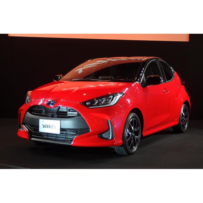 2020年2月の発売日よりも4カ月も前に発表された新型「ヤリス」。ハイブリッド車の価格帯は19...