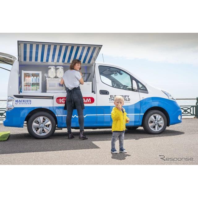 日産自動車の米国部門は、2020年1月に米国ラスベガスで開催されるCES 2020に、EVの『e-NV200』(Nissan e-N...