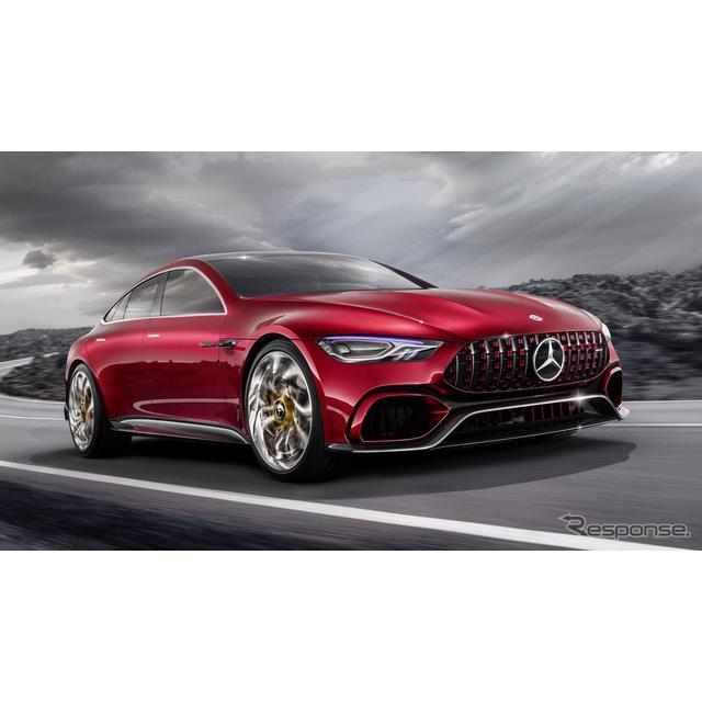 メルセデスベンツの高性能車部門のメルセデスAMGは、現在開発中の新型車のプロトタイプ車両の映像を、公式...