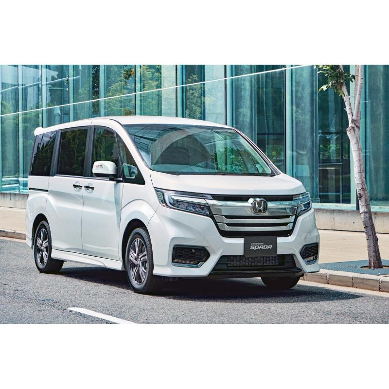 本田技研工業は2020年1月9日、ミドルクラスの箱型ミニバン「ステップワゴン」に一部改良を実施し、同日販売...