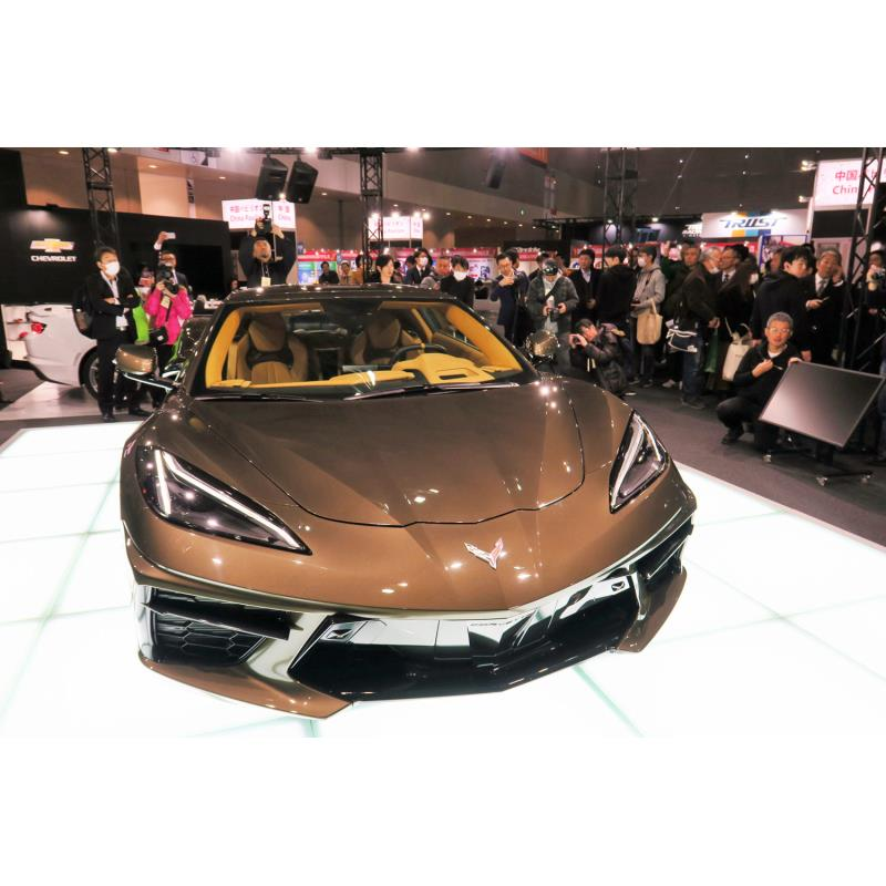 ゼネラルモーターズ・ジャパン(以下、GMジャパン)は2020年1月10日、新型「シボレー・コルベット」を千葉...