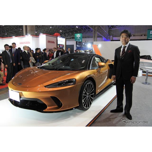 マクラーレン・オートモーティブ・アジアは1月10日に幕張メッセで開幕した東京オートサロン2020に初出展し...