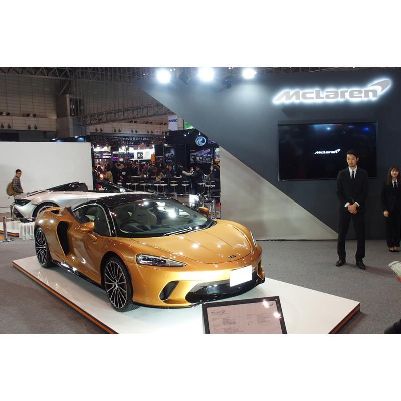 マクラーレン・オートモーティブは2020年1月10日、千葉県の幕張メッセで開催中の「東京オートサロン2020」...