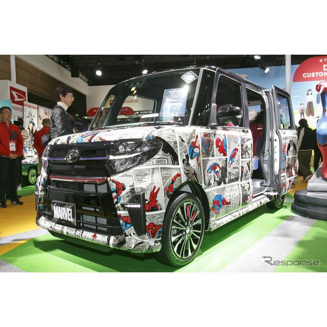 東京オートサロン2020ダイハツ工業のブース内で、海外メディアの注目を集めていた車両があった。誰もが知る...