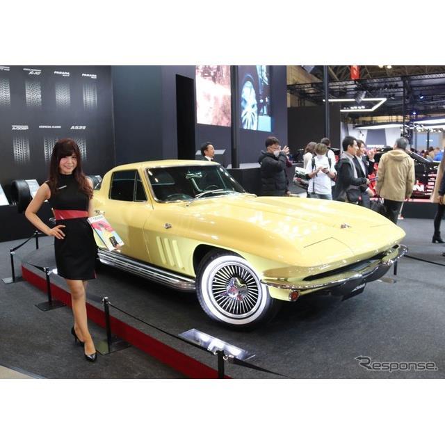 東京オートサロン2020ではGMが新型シボレー『コルベット』の国内注文を開始したと発表したが、横浜ゴムのブ...