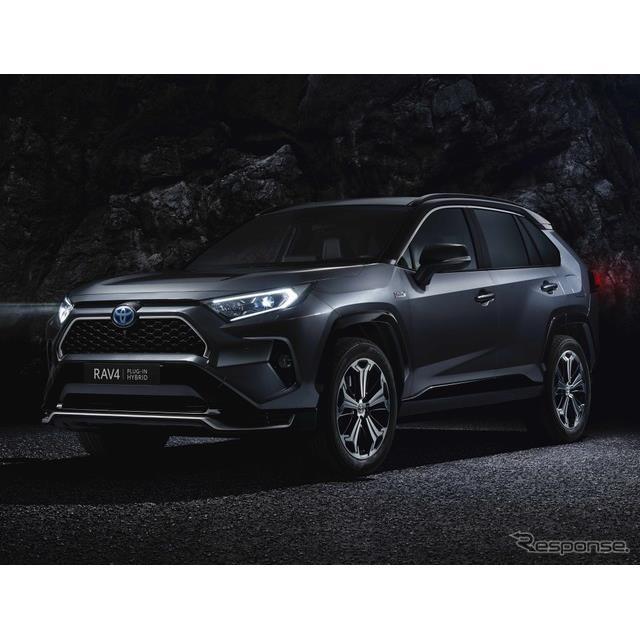 トヨタ自動車の欧州部門のトヨタ・モーター・ヨーロッパは1月14日、新型『RAV4』のプラグインハイブリッド...