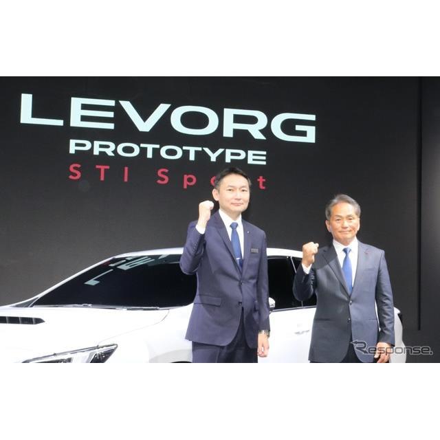 新型レヴォーグ・プロトタイプ STI Sport(東京オートサロン2020)