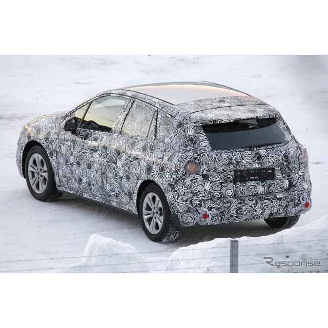 BMW 2シリーズ アクティブツアラー 次期型プロトタイプ(スクープ写真)