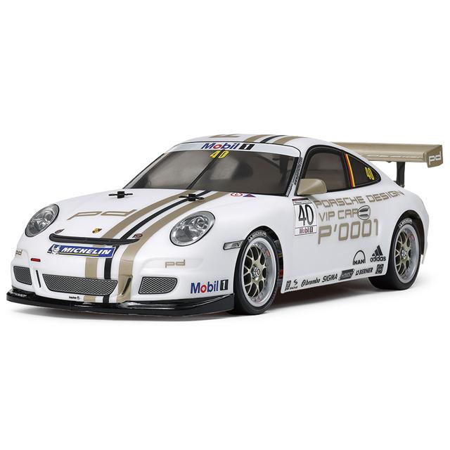 1/10RC ポルシェ 911 GT3 カップカー 2008 (TT-01シャーシTYPE-E)