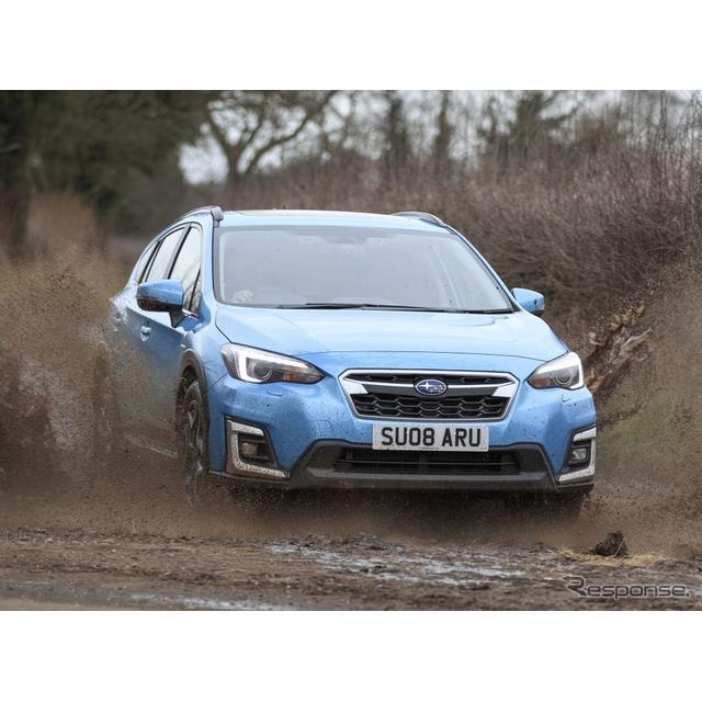Subaru UKは1月20日、昨年発売したスバル『XV』のハイブリッド、「e-BOXER」の英国市場での販売を本格化さ...
