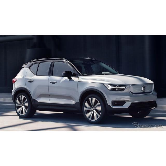 ボルボカーズは1月23日、『XC40』のEV、『XC40 リチャージ P8 AWD』(Volvo XC40 Recharge P8 AWD)の受注...