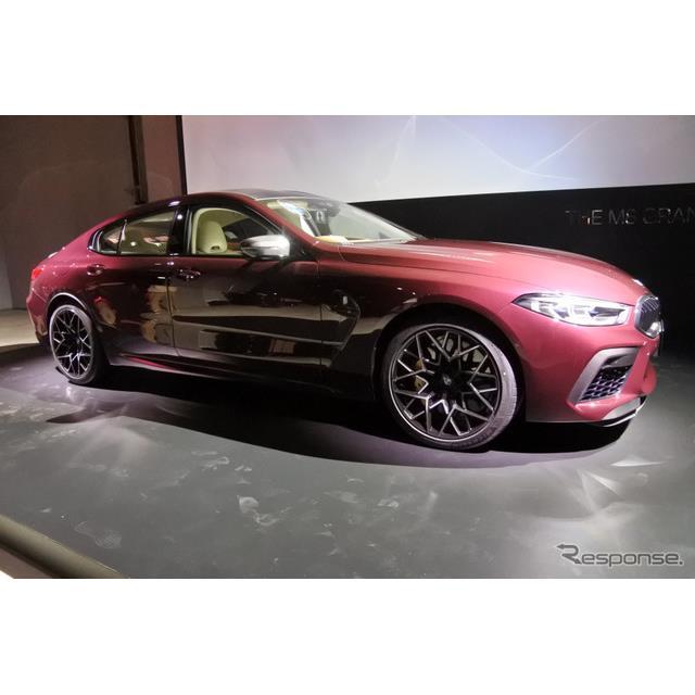 ビー・エム・ダブリューは1月28日、最上級クーペに高性能モデル『BMW M8グランクーペ』を新たに設定し、発...