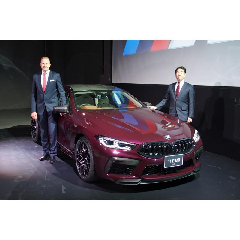 BMWジャパンは2020年1月28日、「2020年BMWグループ新春記者会見」を東京・晴海で開催。BMWの高性能モデル「...