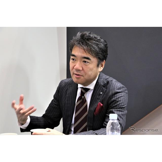 マクラーレン・オートモーティブ日本支社代表の正本嘉宏氏