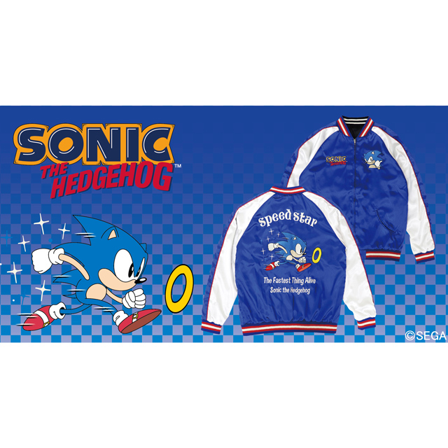 SONIC THE HEDGEHOG Speed Starスカジャン