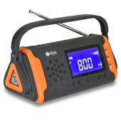 手回し/ソーラー蓄電ラジオ SL-091