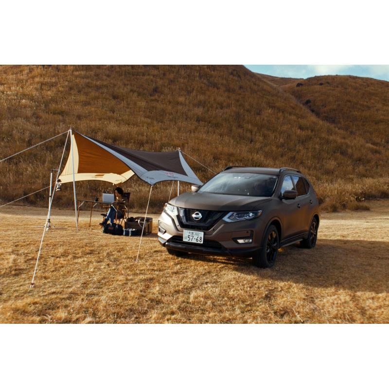 日産自動車とコールマン ジャパンは2020年1月30日、ミドルサイズSUV「日産エクストレイル」のリモートワー...
