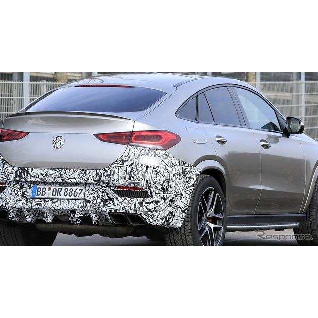 メルセデスベンツのミドルサイズ・クロスオーバーSUV『GLEクーペ』に設定される最強モデル、AMG『GLE63クー...