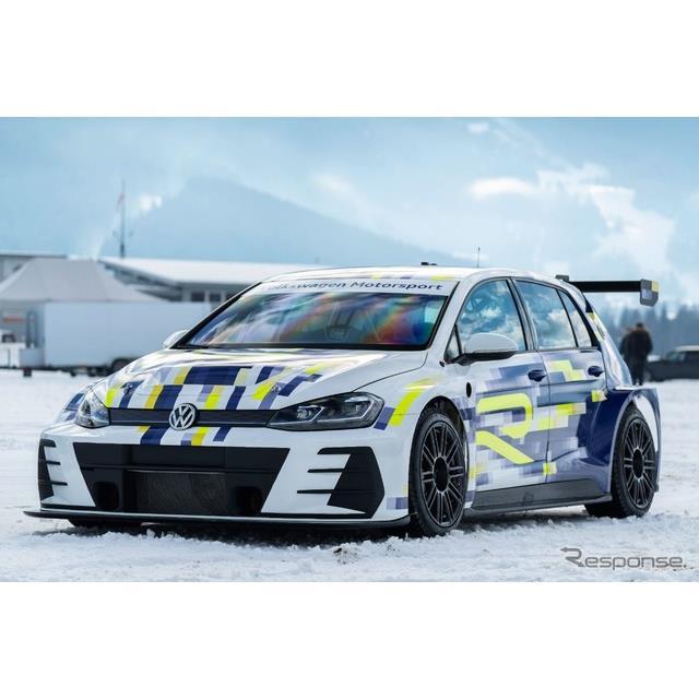 フォルクスワーゲンは、2月1〜2日にオーストリア・ツェルアムゼーで開催されたGPアイスレースにおいて、『e...