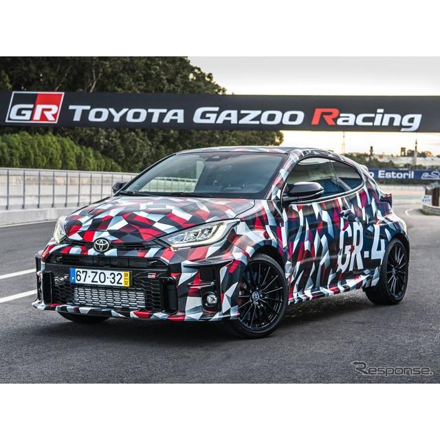 トヨタ自動車の欧州部門は、『GRヤリス』(Toyota GR Yaris)のプロトタイプにフェルナンド・アロンソ選手...