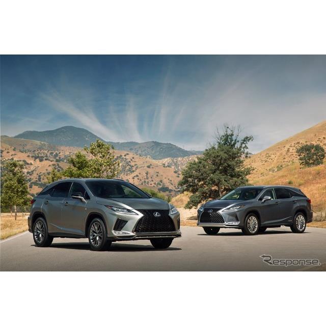 レクサスの米国部門は2月3日、米国で2月6日に開幕するシカゴモーターショー2020に、『RX』(Lexus RX)の改...