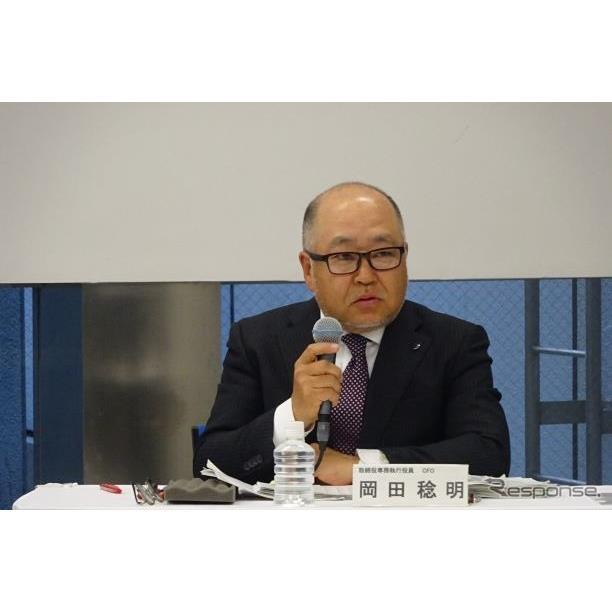 スバル 岡田稔明専務執行役員