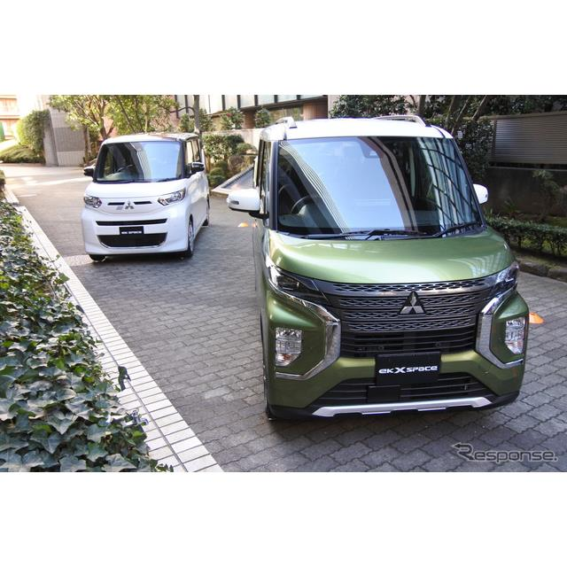 三菱自動車 eKクロススペース/eKスペース 発表会