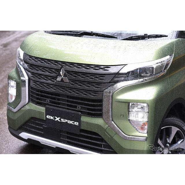 三菱自動車はスーパーハイト軽ワゴンの『eKクロススペース』と『eKスペース』を発表した。ハイト軽ワゴンの...