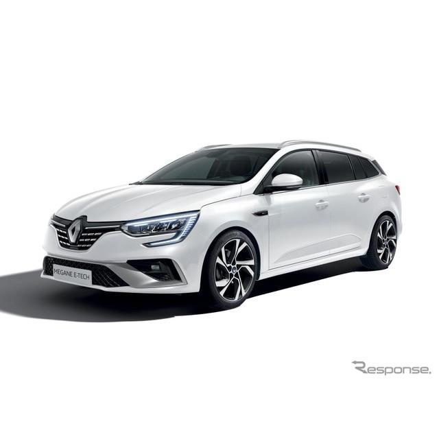 ルノーは、改良新型『メガーヌ』(Renault Megane)に初のプラグインハイブリッド車(PHV)の「E-TECH」を...