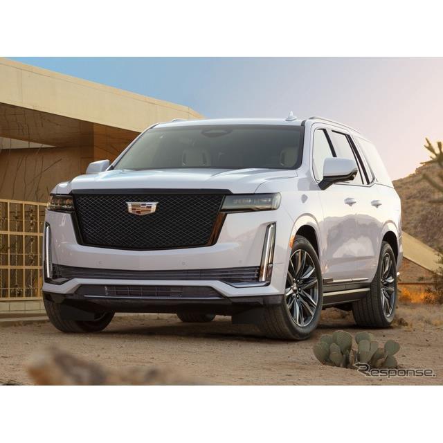 キャデラックは、新型『エスカレード』(Cadillac Escalade)に「スポーツ」を初設定し、2020年後半に米国...