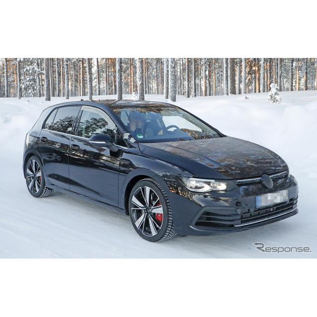 VW『ゴルフGTI』の最強モデルとされる新型『ゴルフGTI TCR』のプロトタイプを、スクープサイト「Spyder7」...