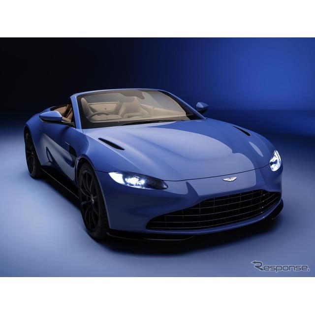 アストンマーティンは2月12日、新型『ヴァンテージ・ロードスター』(Aston Martin Vantage Roadster)を、...