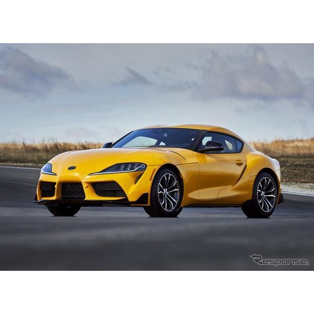 トヨタ自動車の米国部門は、『GRスープラ』(Toyota GR Supra)の2021年モデルに、初の2.0リットル直列4気...
